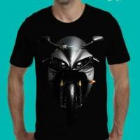 Tshirt 3D Motor Yamaha, Baju Kaos Distro Pria 3D Motor Yamaha YZF-R1
