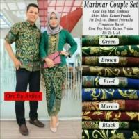 harga Sarimbit Couple Batik Rokblus Marimar Lilit Prada Tokopedia.com