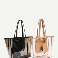 tas kerja wanita zara transparant