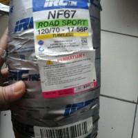 ban tubeless 120/70-17 NF67 IRC / ban belakang vixion byson cbr ninja