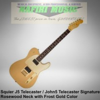 Gitar Squier J5 Telecaster / Squier John 5 Telecaster baru Original