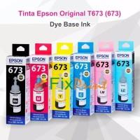 Tinta Epson Original 673 t6736 Light Magenta 70ml Printer L800 L1800