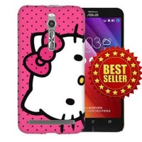 Casing Hp Hello Kitty Asus Zenfone 2/5/Selfie/Go(5 Inch) Custom Case