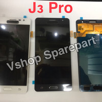 Lcd + Touchscreen Samsung J3 Pro J3110 Black White