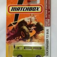 Matchbox Volkswagen VW T2 Bus Combi (Diecast - Miniatur Mobil)