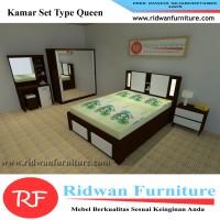 Paket Kamar Set Minimalis Tipe Queen Size