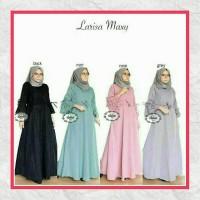 Baju Muslim Wanita/ Long Dress/ Maxy Dress/ Larisa Maxy