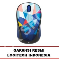 Harga logitech m238 wireless mouse blue facet garansi | Pembandingharga.com