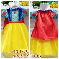 Dress Baju Costume Kostum Gaun Princess Disney Snow White Putri Salju