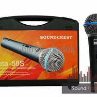 MIC SOUNDCREST BETA 58S