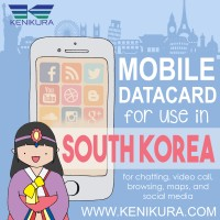 South Korea Simcard korea selatan sim card kartu data internet Seoul