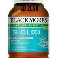 Blackmores Fish Oil 1000 minyak ikan 400 Kapsul