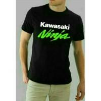 T - Shirt Distro | Kaos Kawasaki Ninja Black