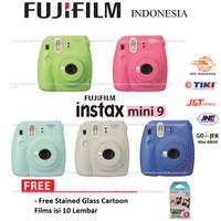 Fujifilm Kamera Polaroid Instax Mini 9 Camera Instax Paket Standard