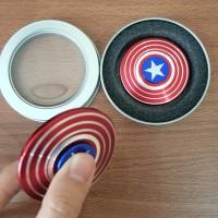 Jual PROMO FIDGET Spinner captain america dan HAND SPINER spiderman Murah