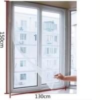 Tirai jendela anti nyamuk lalat serangga / Window Curtain Seal HPR040