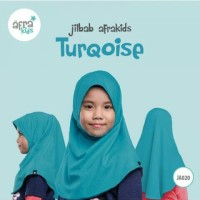 READY Jilbab Afrakids TurQoise JA020 S