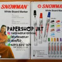 SPIDOL WHITEBOARD MARKER SNOWMAN BG12 GROSIR PERLUSIN!