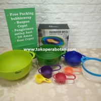 Mixing Bowl Oxone Ox-041 / Baskom + Pengukur set Oxone Ox-041
