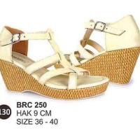 Harga brc250 wedges heels sandal pesta cewek perempuan | Hargalu.com