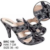 Harga brc109 wedges heels sandal pesta cewek perempuan | Hargalu.com