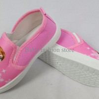 Jual Sepatu Anak / Sepatu Kets / Sepatu Kanvas - FROZEN (Import) NMS10022 Murah