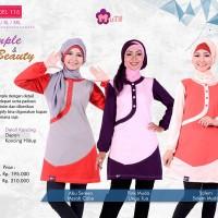 Atasan Muslimah Simply & Beuaty Mutif-116 - BLouse Kerja/Kuliah/Formal