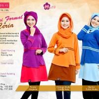 Blouse Semi Formal & Ceria - Mutif-93 - Atasan Muslimah Kaos Combed