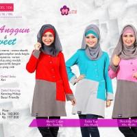 Atasan Muslimah Anggun & Sweet -Mutif-106 - BLouse Kerja/Kuliah/Formal