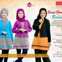 Blouse Semi Formal & Beuty - Mutif-92 - Atasan Muslimah Kaos Combed