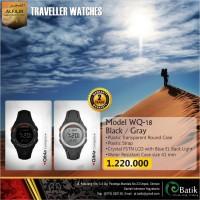 Jam Tangan Al Fajr WQ-18 Traveller Watches