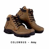 Jual SEPATU BOOTS PRIA HUMM3R COLOMBUS ARMY Murah