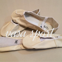 sepatu balet kulit/oscar/chandra dance shoes