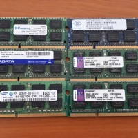 Memory RAM Laptop Notebook DDR3 4GB Samsung Hynix Kingston Bekas