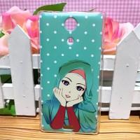 Sony Xperia ZR - Hardcase Casing Custom Case Cover Print Cetak Hijab