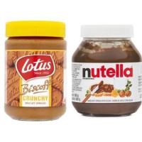 PROMO!!! NUTELLA SPREAD + LOTUS CRUNCHY SPREAD