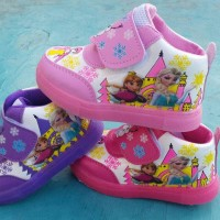 harga Sepatu Lampu Frozen Nyala Anak Bayi Baby Light Shoes Boot Bot Children Tokopedia.com