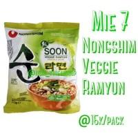 Nongshim SOON Veggie Ramyun Noodle Soup