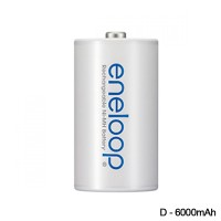 Sanyo Eneloop Baterai Size D 6000mAh – 1HR-3UTG-3-SECP-BP