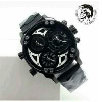 Jam Tangan Pria / Cowok Diesel X Man Rantai Full Black