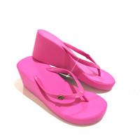 Sandal Fipper Wedges Pink