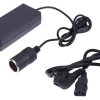 Adaptor AC to DC 12V Car Lighter Socket Power Supply Converter Adapter