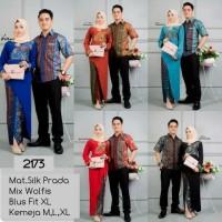 kebaya batik couple muslim merah model terbaru,batik pasangan modern