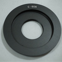 Macro Lens Adapter CCTV C Mount To Canon EOS DSLR C - EF . C - EOS