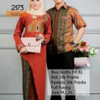 kebaya batik couple muslim bata model terbaru,batik pasangan modern