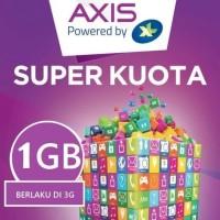 Kartu Perdana Internet XL Axis 1GB 1 GB Solusi Tri Aon 2 Bulan Trmurah