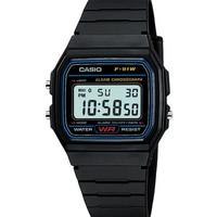 Jual Casio Digital Watch Jam Tangan Unisex - Hitam - Resin Strap - F-91W-1D Murah