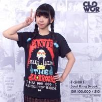Jual Soul King Brook Anime One Piece Tshirt Kaos Distro  Murah