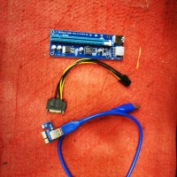 konektor vga card external untuk PC (PCIE x1 to x16 RISER)