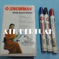 BOLEH CAMPUR SPIDOL WHITEBOARD MARKER SNOWMAN BG12